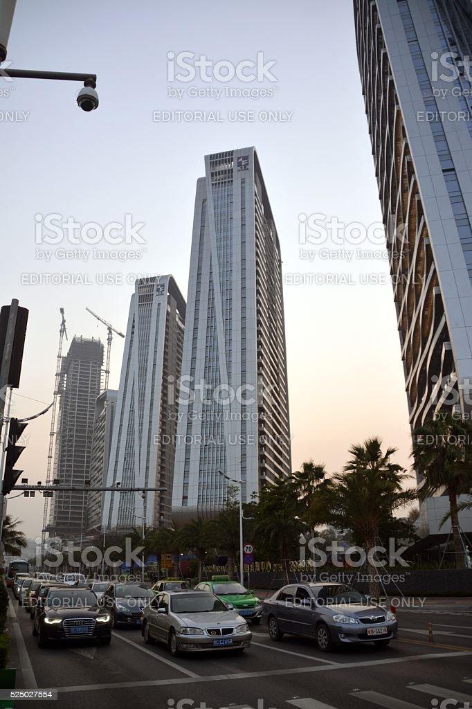 Yanlord Marina Center in Zhuhai, Guangdong, China stock photo