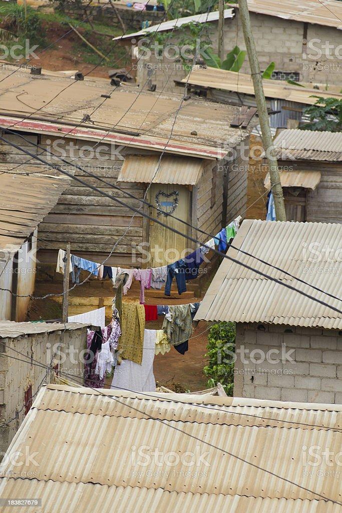 Yaounde Neighborhood stock photo