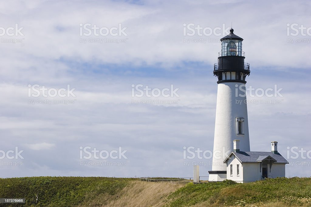 Yaquina Head Light stock photo