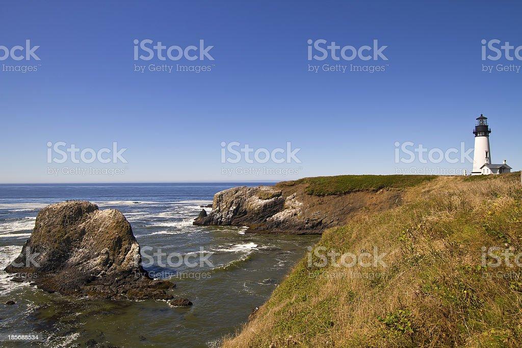 Yaquina Head Lighthouse 4 royalty-free stock photo