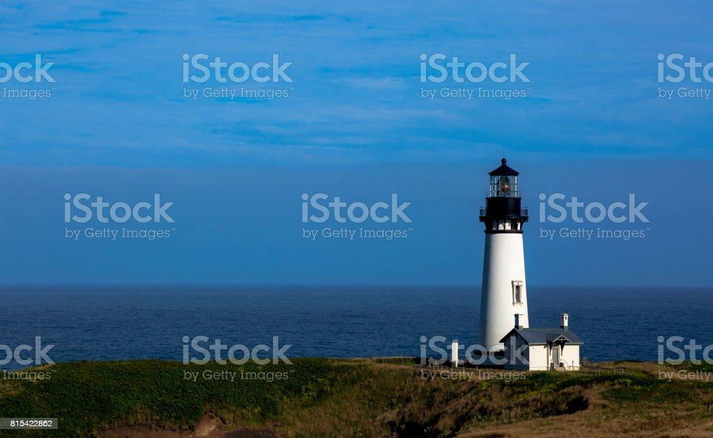 Yaquina Lighthouse stock photo