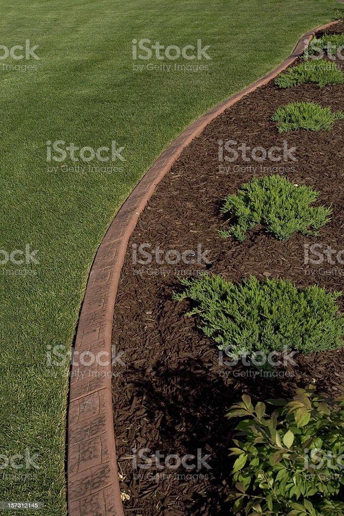 Yard Landscape royalty-free stock photo