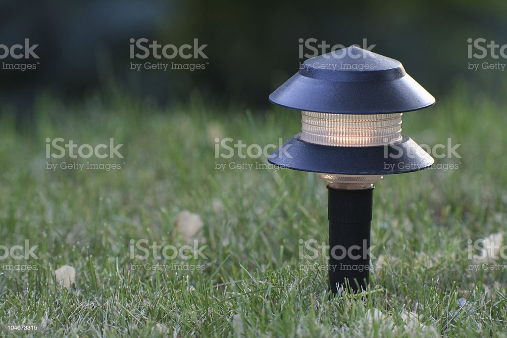 Yard Light royalty-free stock photo