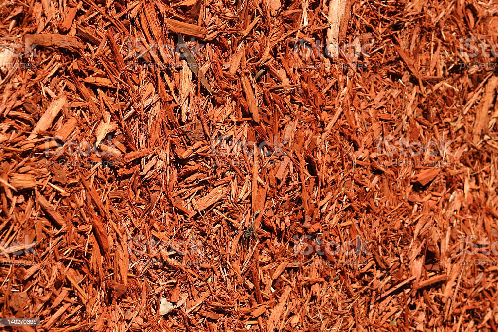 Yard mulch background royalty-free stock photo