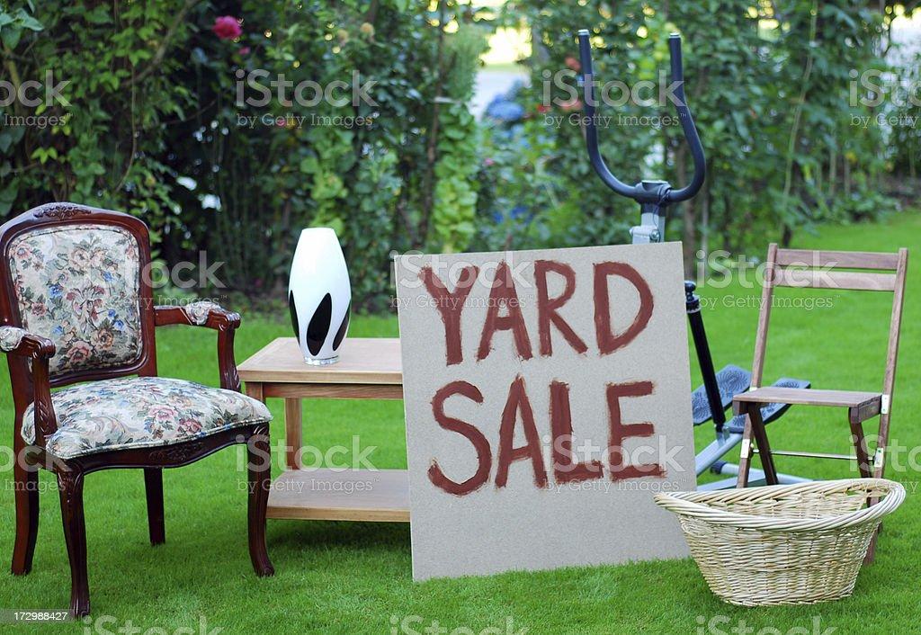 Yard Sale royalty-free stock photo