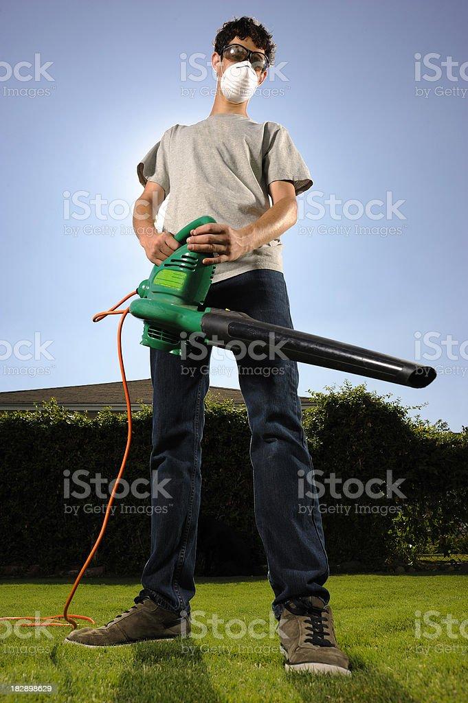Yard Work stock photo
