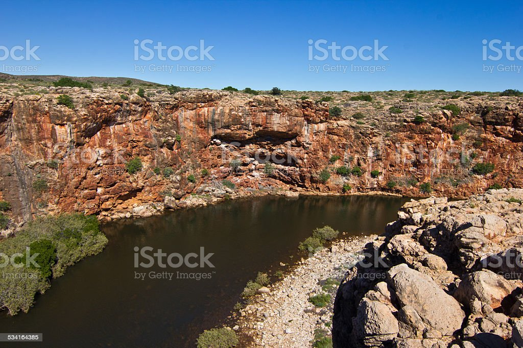 Yardie Creek, Cape Range National Park stock photo