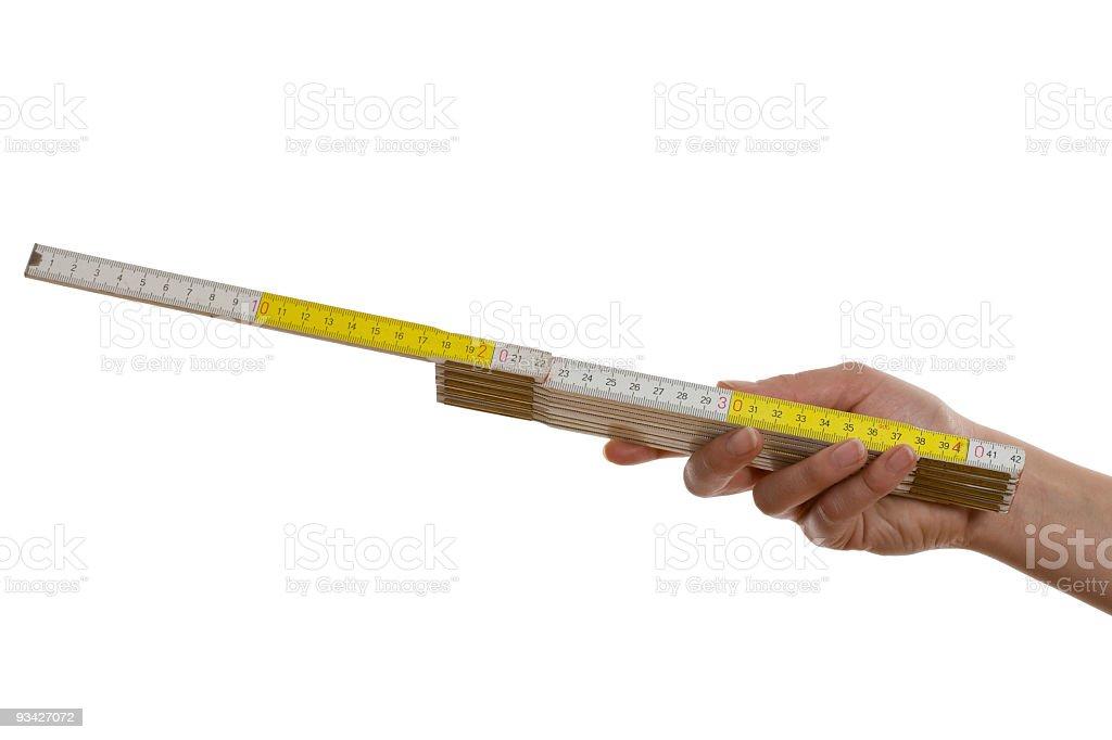 yardstick stock photo