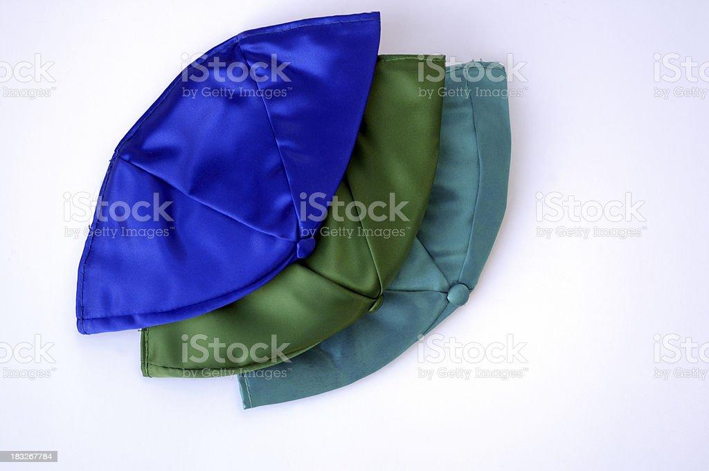 yarmulkes uncropped royalty-free stock photo