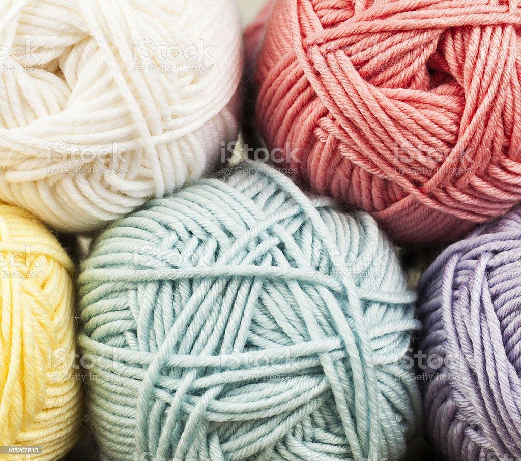 Yarn Background stock photo