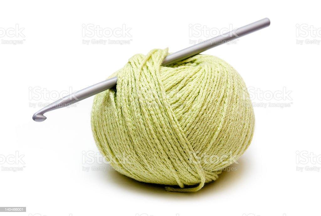 yarn ball royalty-free stock photo