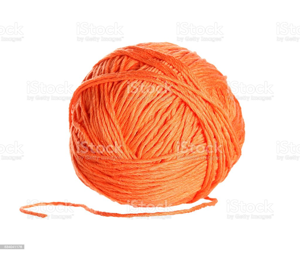 yarn clew stock photo