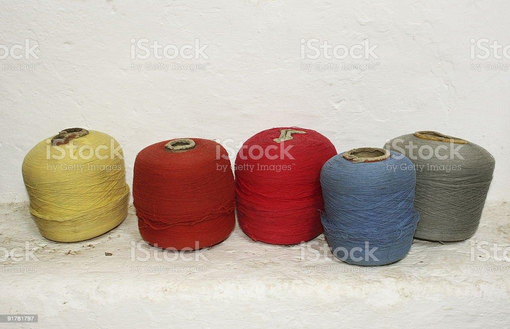 Yarn Spool stock photo