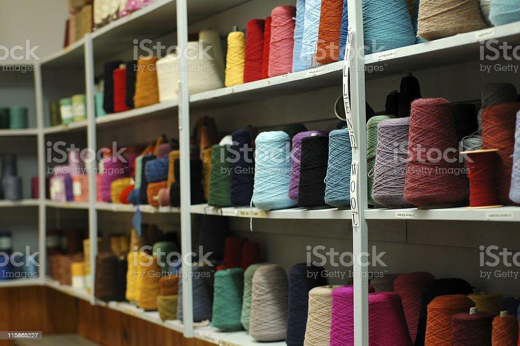 yarn wall royalty-free stock photo