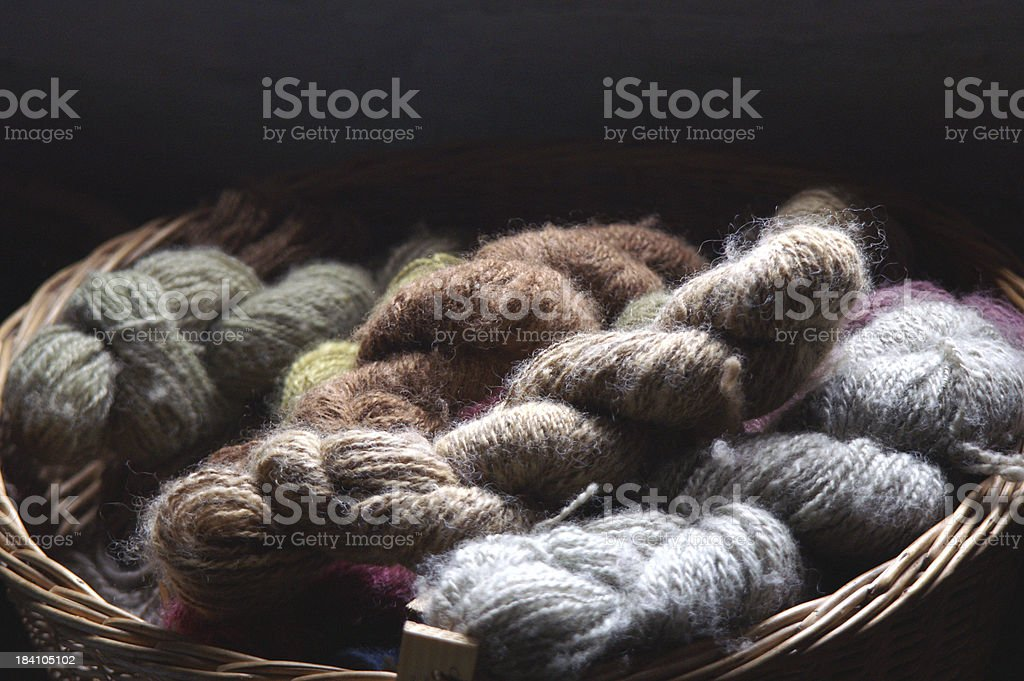 Yarn1 stock photo