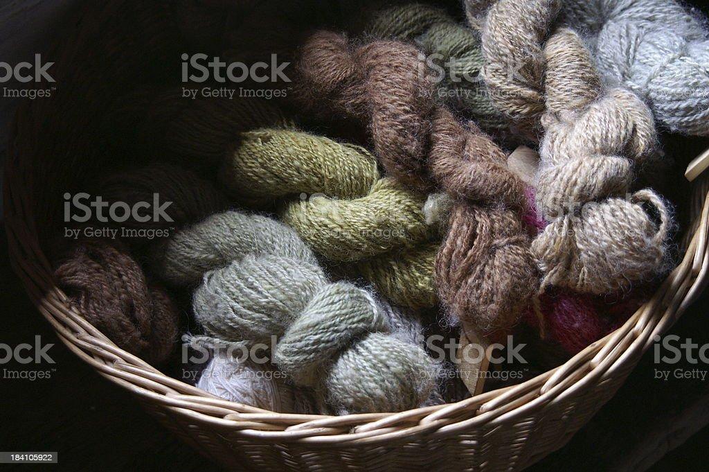 Yarn2 stock photo
