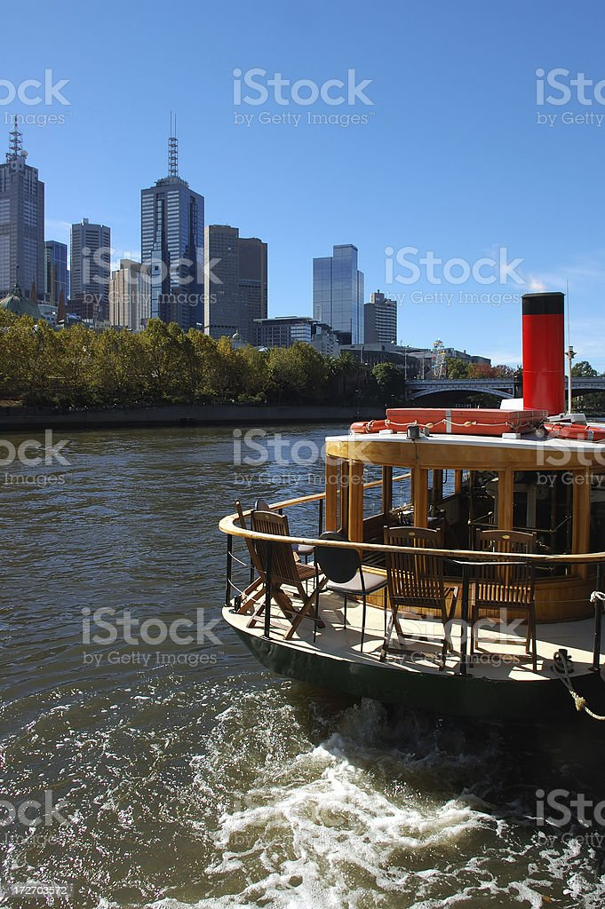 Yarra River cruise royalty-free stock photo