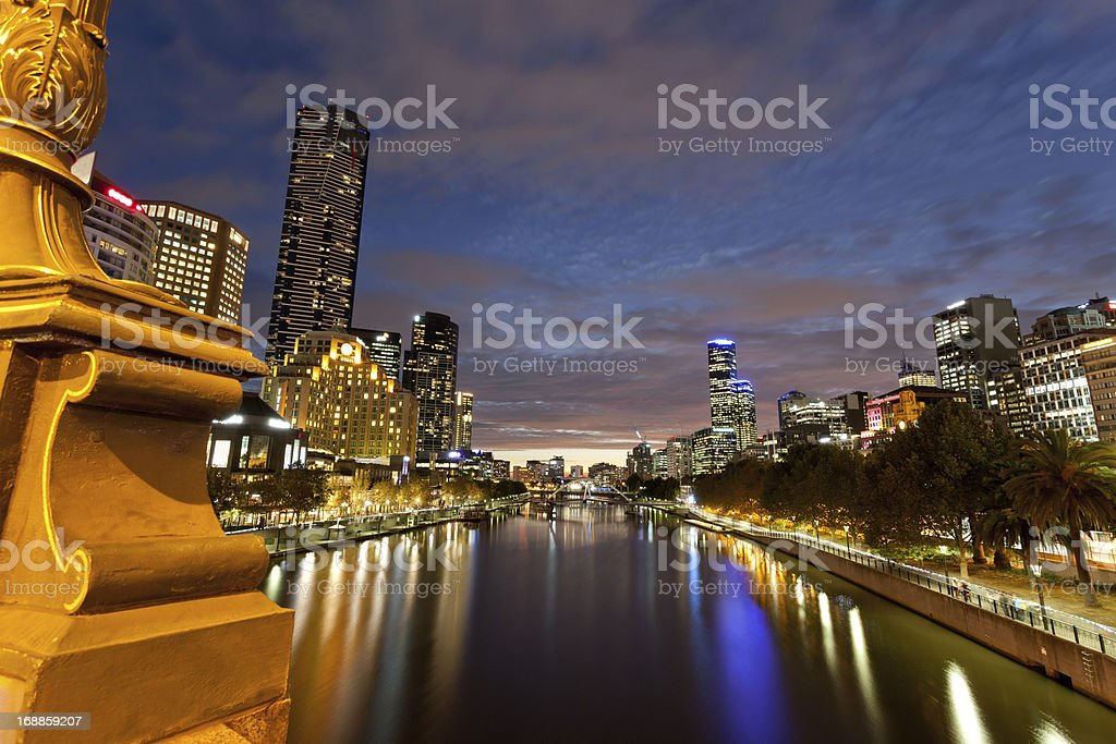 Yarra river royalty-free stock photo
