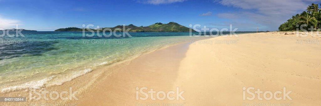 Yasawa Islands Landscape stock photo