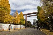 Yasukuni Shrine in Tokyo, Japan