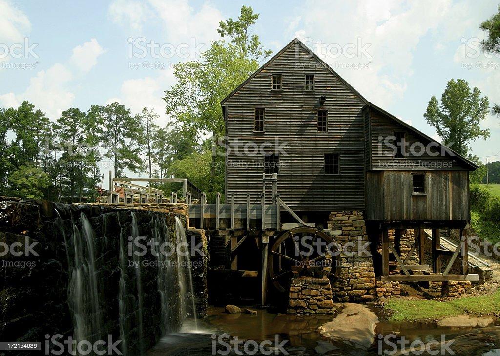 Yates Mill II stock photo