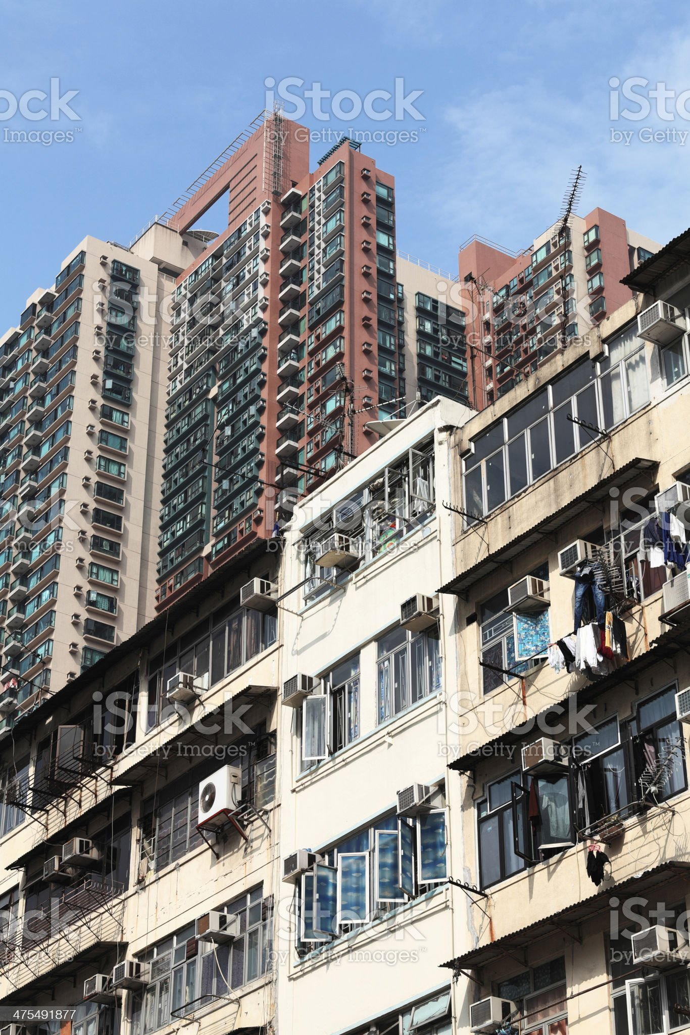 Yau Ma Tei Hong Kong royalty-free stock photo