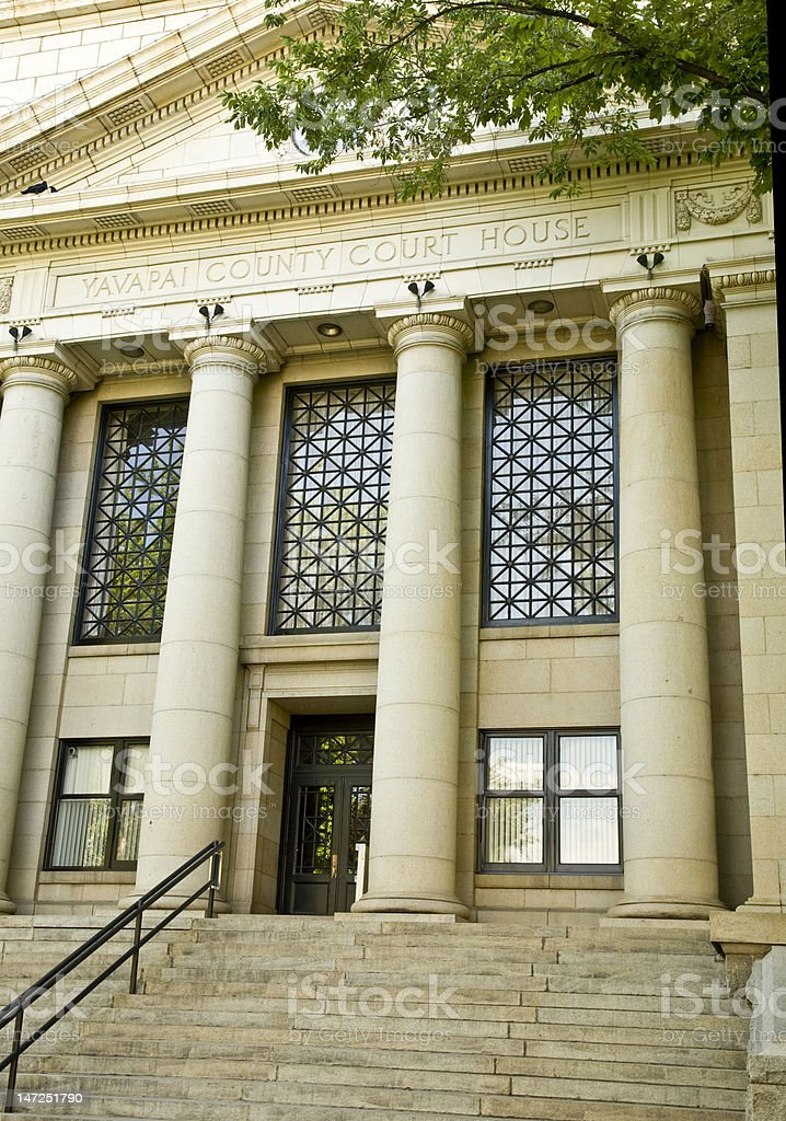 Yavapai County Courthouse stock photo