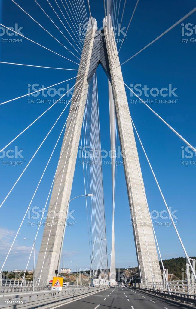 Yavuz Sultan Selim Bridge, Istanbul-TURKEY stock photo