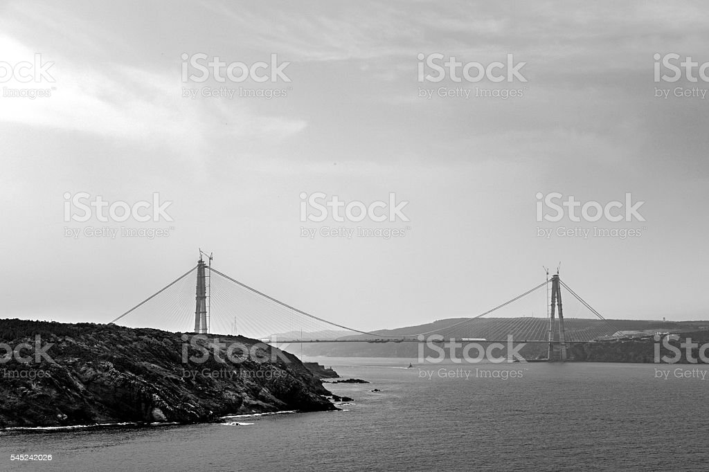 Yavuz sultan selim Bridge stock photo