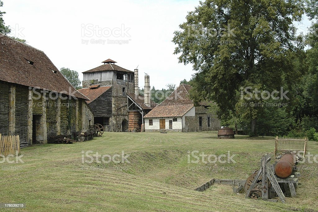 'Ye olde smithy, 2nd edition' stock photo