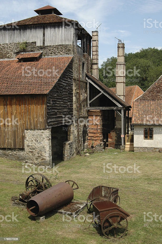 Ye olde smithy stock photo