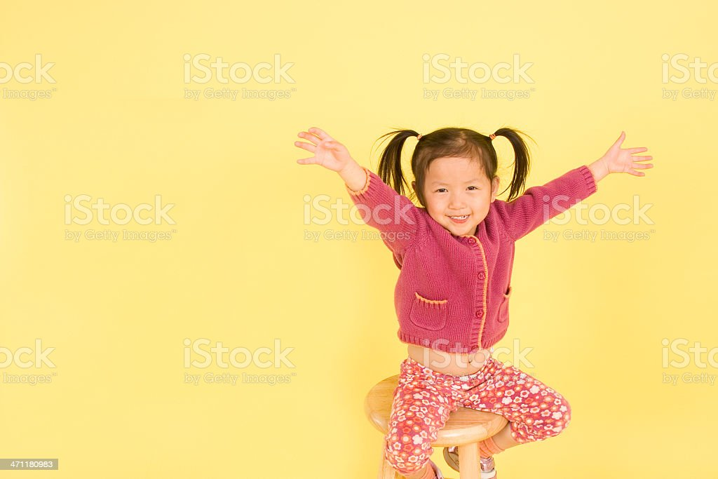Yeah for me! royalty-free stock photo