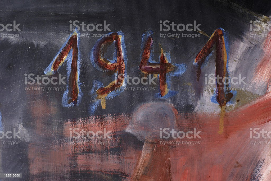 year 1941 royalty-free stock photo