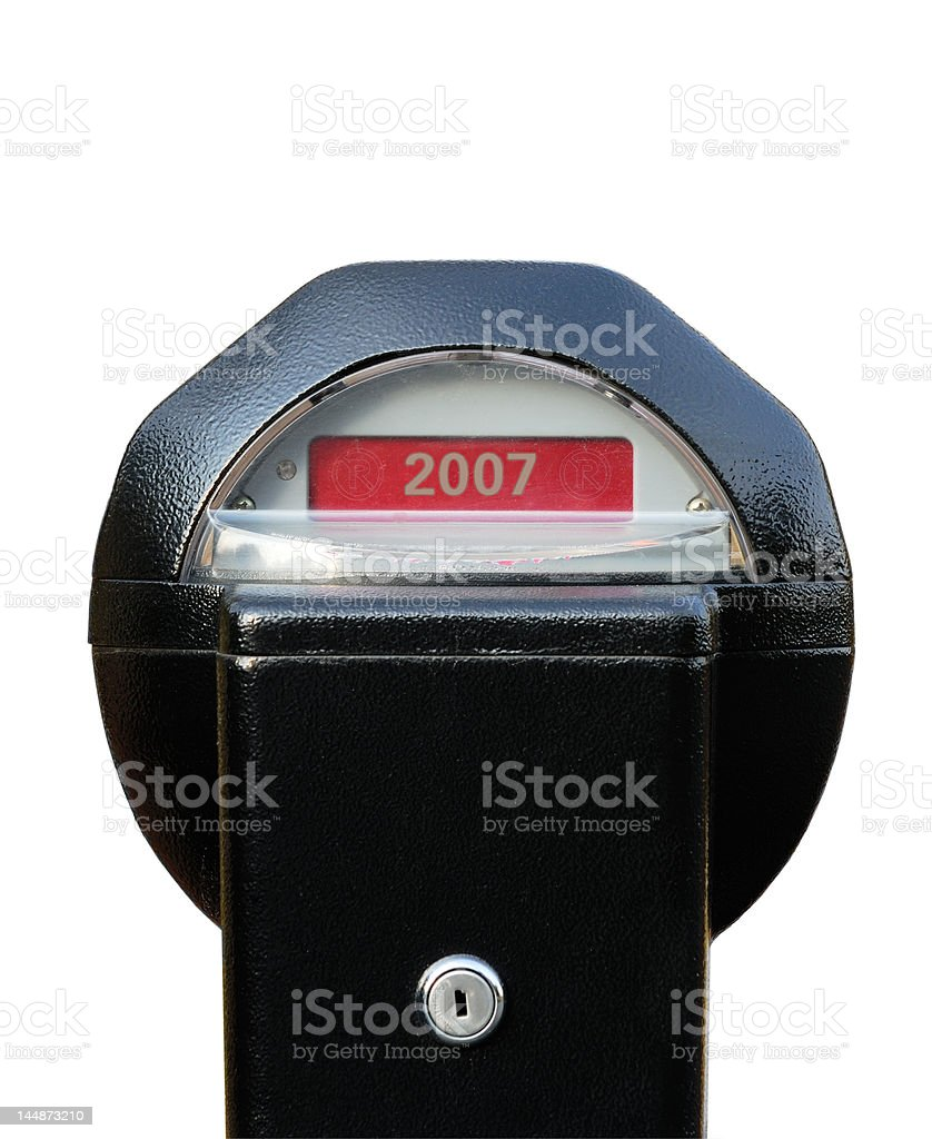 Year 2007 Ends stock photo