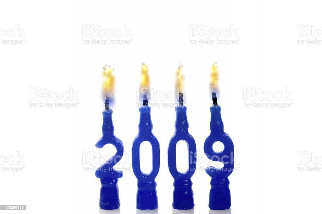 Year 2009 stock photo