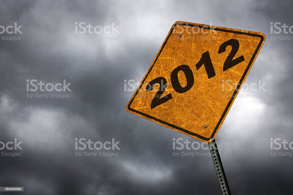 Year 2012 royalty-free stock photo