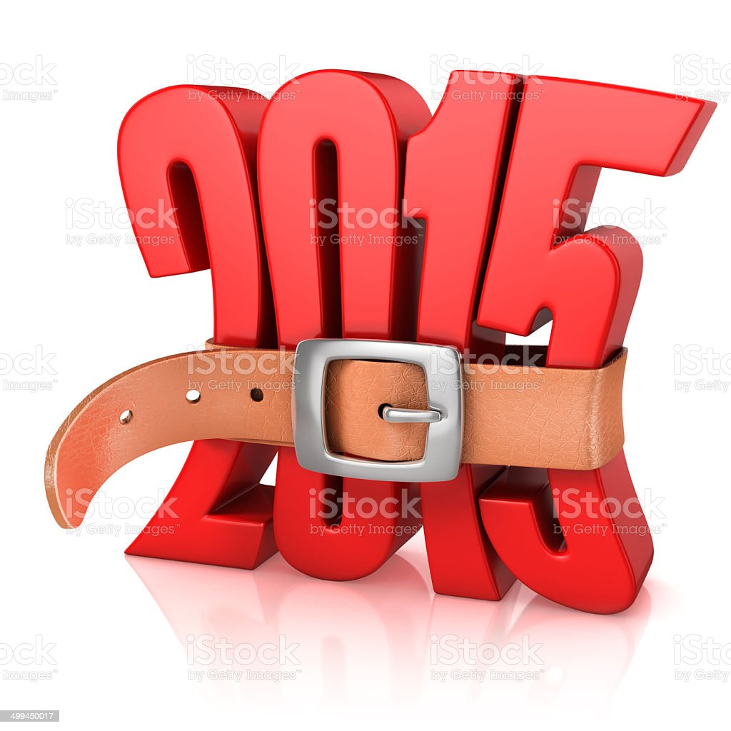 Year 2015 recession stock photo