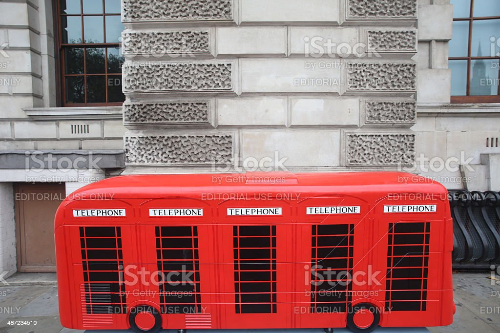 Year of the Bus stock photo