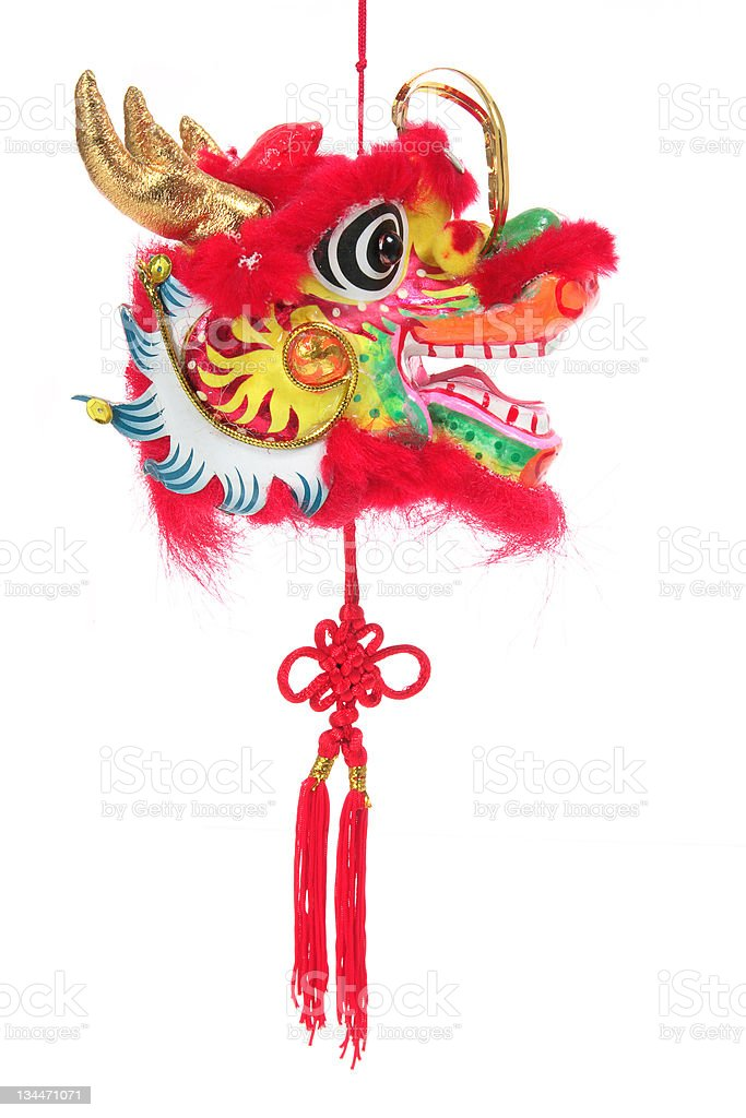Year of the Dragon stock photo