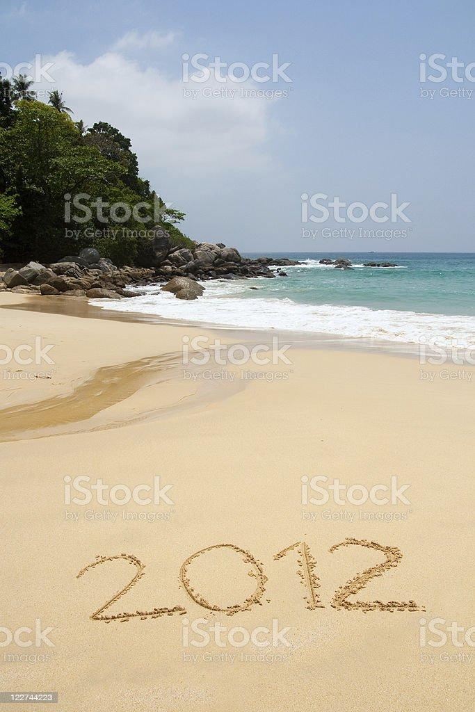 2012 year royalty-free stock photo