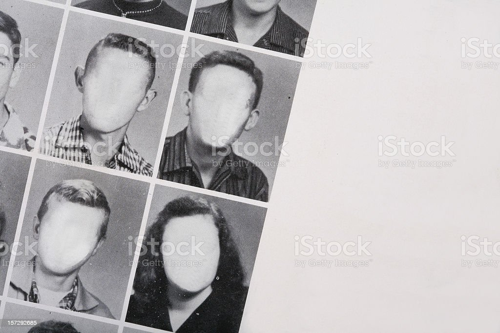 YearBook Photos stock photo