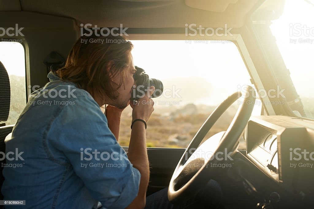 Yearning for something untouched stock photo