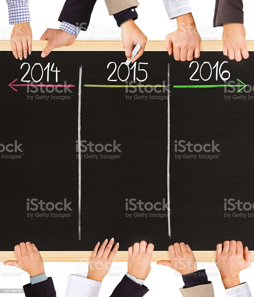 Years concept stock photo