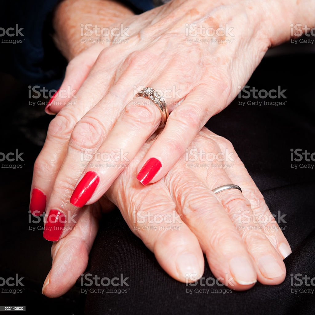 65 Years Of Marriage stock photo