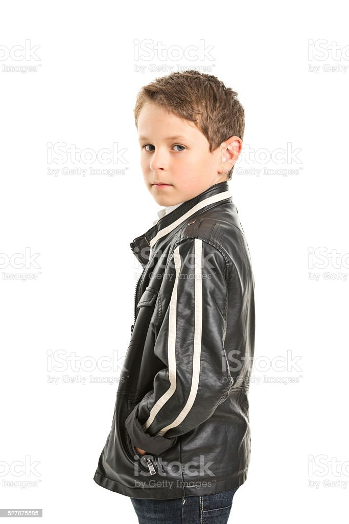 Boy leather jackets