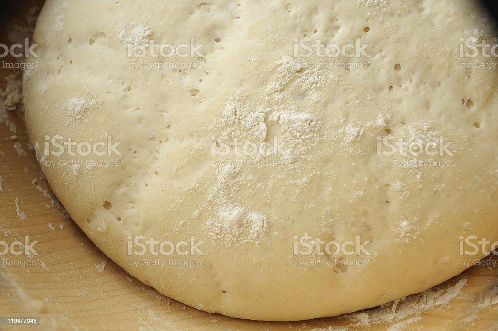 Yeast Dough royalty-free stock photo