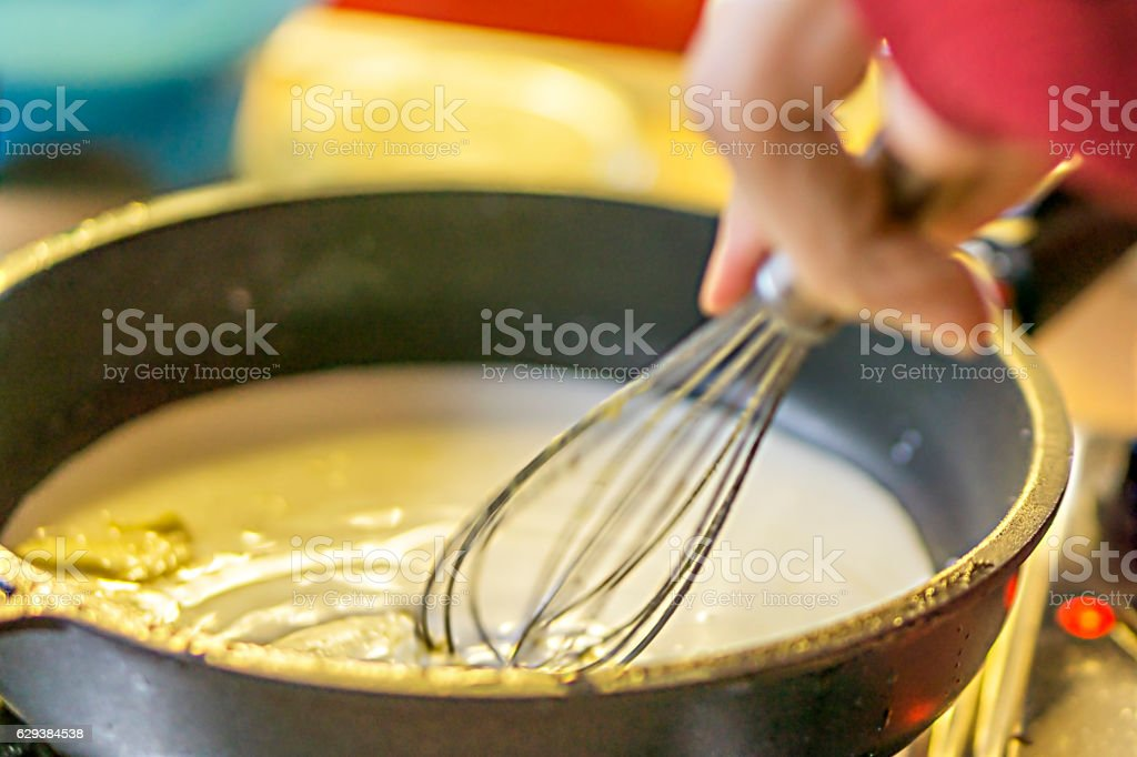 Yeast dumplings stock photo