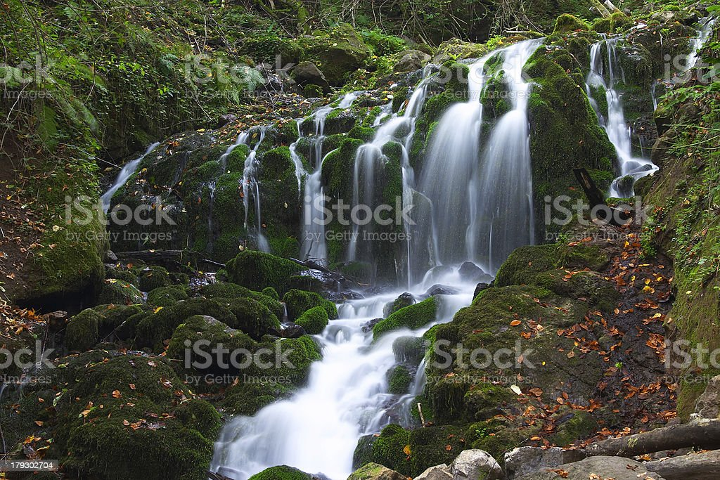 Yedigoller Falls III stock photo