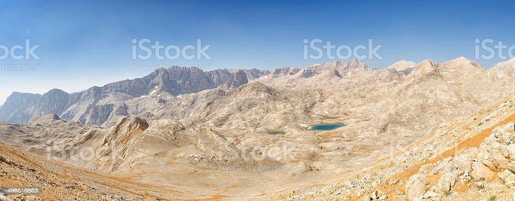 Yedigoller plateau at Aladaglar royalty-free stock photo
