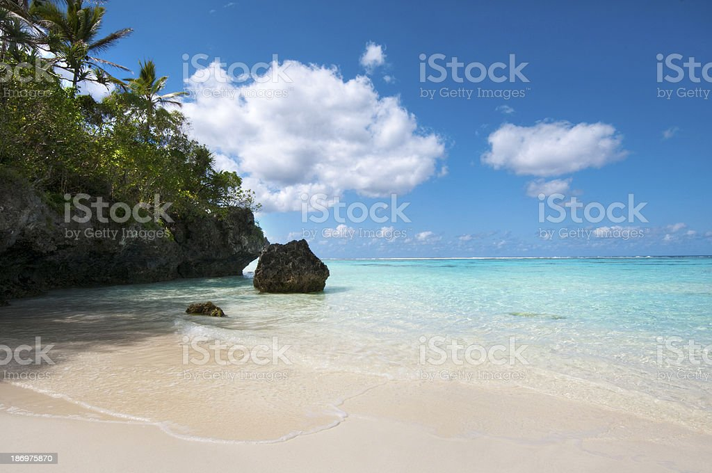 Yejele Beach stock photo